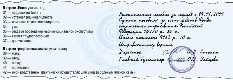 Больничный лист внесение исправлений 2011 Справка от фтизиатра Щукино