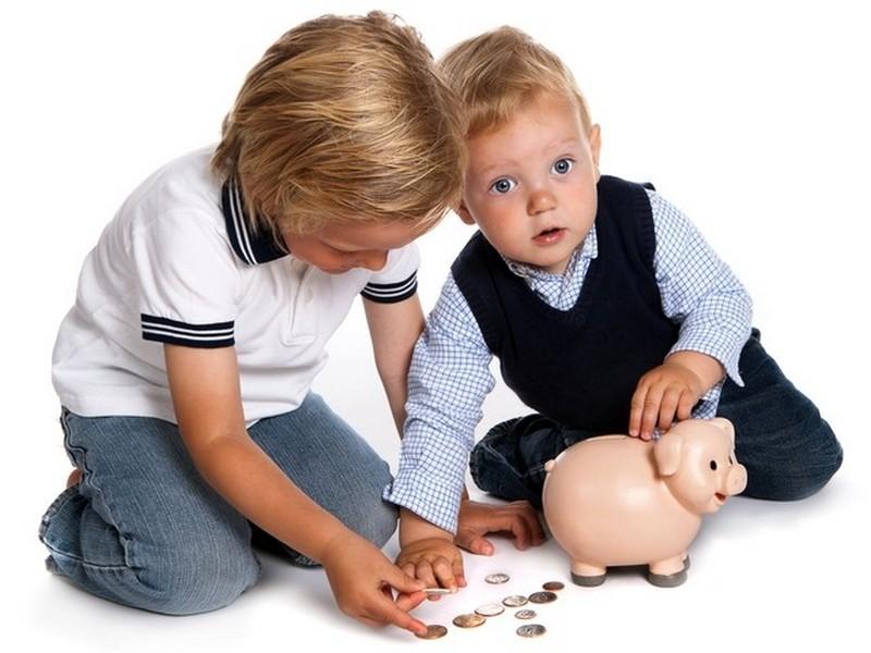 проценты по алиментам на двоих детей